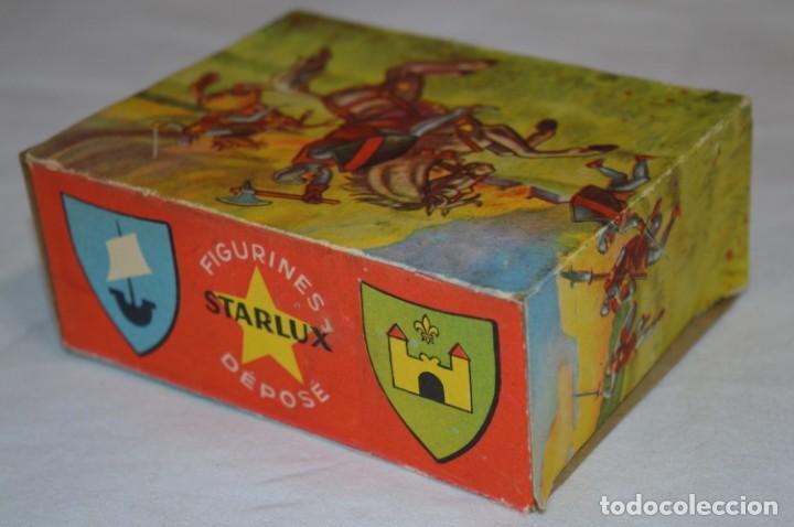 Figuras de Goma y PVC: CHEVAL NOIR - STARLUX ANCIEN - Ref 6101 Lance et cape sur cheval cabré / Buen estado ¡Difícil, mira! - Foto 15 - 252463155