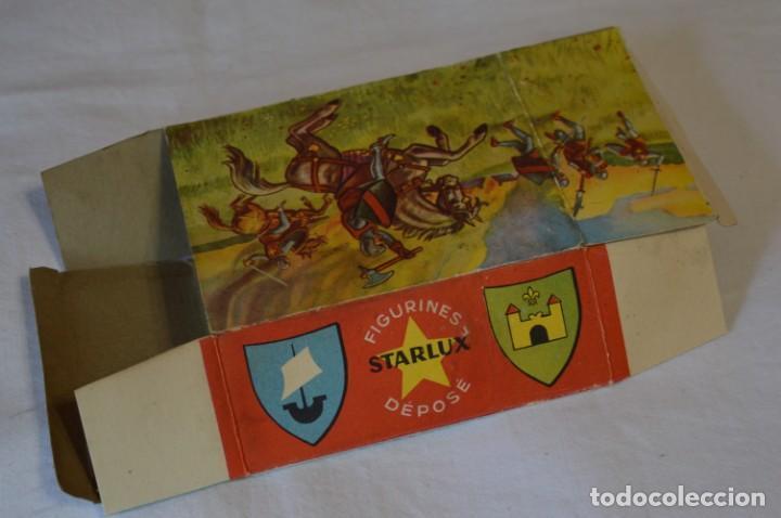 Figuras de Goma y PVC: CHEVAL NOIR - STARLUX ANCIEN - Ref 6101 Lance et cape sur cheval cabré / Buen estado ¡Difícil, mira! - Foto 18 - 252463155