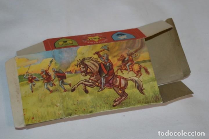 Figuras de Goma y PVC: CHEVAL NOIR - STARLUX ANCIEN - Ref 6101 Lance et cape sur cheval cabré / Buen estado ¡Difícil, mira! - Foto 19 - 252463155