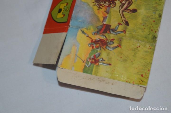 Figuras de Goma y PVC: CHEVAL NOIR - STARLUX ANCIEN - Ref 6101 Lance et cape sur cheval cabré / Buen estado ¡Difícil, mira! - Foto 21 - 252463155