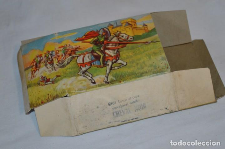Figuras de Goma y PVC: CHEVAL NOIR - STARLUX ANCIEN - Ref 6101 Lance et cape sur cheval cabré / Buen estado ¡Difícil, mira! - Foto 22 - 252463155