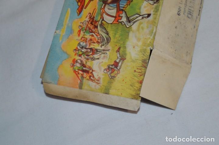 Figuras de Goma y PVC: CHEVAL NOIR - STARLUX ANCIEN - Ref 6101 Lance et cape sur cheval cabré / Buen estado ¡Difícil, mira! - Foto 24 - 252463155