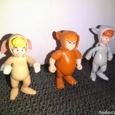 Figuras de Goma y PVC: NIÑOS PERDIDOS FIGURAS HEROES DISNEY DE FAMOSA. Lote 252552365