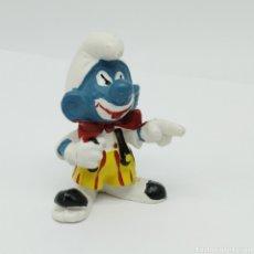 Figuras de Goma y PVC: ANTIGUO PITUFO PAYASO DE SCHLEICH. Lote 253018025