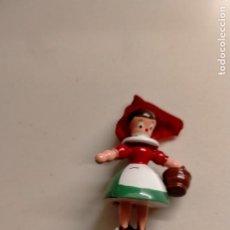 Figuras de Goma y PVC: FIGURA DE MADERA GOULA. Lote 253018265