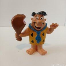 Figuras de Goma y PVC: PEDRO PICAPIEDRA CON JAMÓN - COMICS SPAIN PVC - AÑOS 80. Lote 253104305