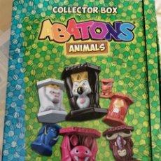 Figurines en Caoutchouc et PVC: ABATONS ALBUM ARCHIVADOR +54 ABATONS ANIMALS PANINI 2015. Lote 253248105