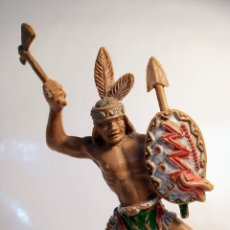 Figuras de Goma y PVC: FIGURA INDIO LAFREDO AÑOS 60. Lote 253288000