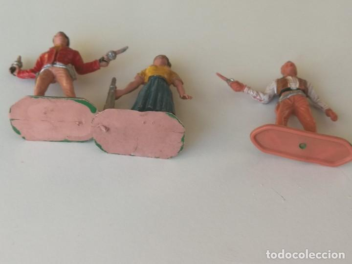 Figuras de Goma y PVC: Reamsa Jecsan Bruber lafredo figuras chaparral de Comansi años 60 - 70 serie completa - Foto 8 - 253332730