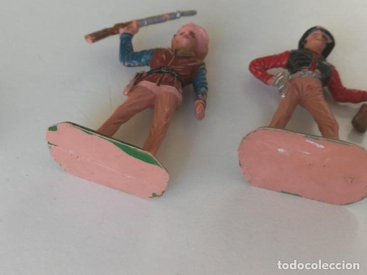 Figuras de Goma y PVC: Reamsa Jecsan Bruber lafredo figuras chaparral de Comansi años 60 - 70 serie completa - Foto 9 - 253332730