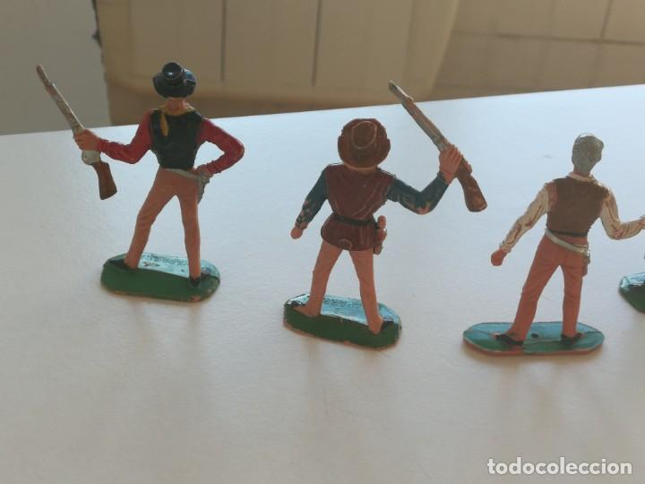 Figuras de Goma y PVC: Reamsa Jecsan Bruber lafredo figuras chaparral de Comansi años 60 - 70 serie completa - Foto 10 - 253332730