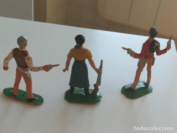 Figuras de Goma y PVC: Reamsa Jecsan Bruber lafredo figuras chaparral de Comansi años 60 - 70 serie completa - Foto 11 - 253332730