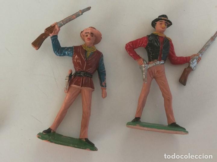 Figuras de Goma y PVC: Reamsa Jecsan Bruber lafredo figuras chaparral de Comansi años 60 - 70 serie completa - Foto 13 - 253332730