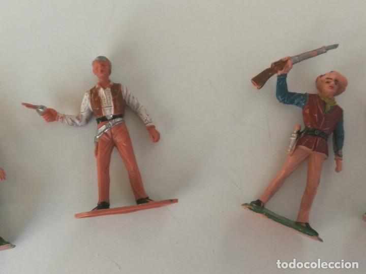 Figuras de Goma y PVC: Reamsa Jecsan Bruber lafredo figuras chaparral de Comansi años 60 - 70 serie completa - Foto 14 - 253332730