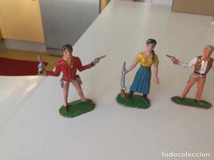 Figuras de Goma y PVC: Reamsa Jecsan Bruber lafredo figuras chaparral de Comansi años 60 - 70 serie completa - Foto 16 - 253332730
