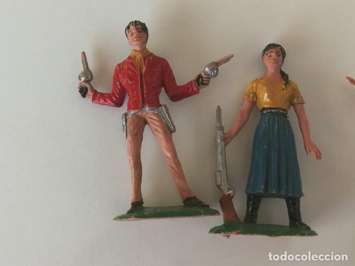 Figuras de Goma y PVC: Reamsa Jecsan Bruber lafredo figuras chaparral de Comansi años 60 - 70 serie completa - Foto 17 - 253332730