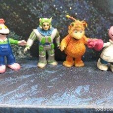 Figuras de Goma y PVC: LOTE 4 FIGURAS PVC LOS MUNDOS DE YUPI COMICS SPAIN VINTAGE AÑOS 80. Lote 253431745