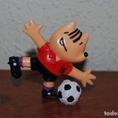 Figuras de Goma y PVC: FIGURA DE GOMA PVC - MUÑECO COBI - FÚTBOL - MARISCAL - BARCELONA 1992 - COMANSI. Lote 253612205
