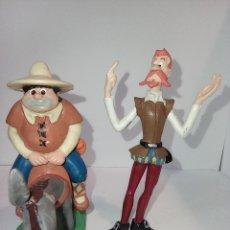 Figuras de Goma y PVC: DON QUIJOTE Y SANCHO PANZA EN SU BURRO. COMICS SPAIN. FIGURAS PVC. Lote 253680740