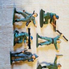 Figuras de Goma y PVC: LOTE SOLDADOS CASCOS AZULES JECSAN PINTADOS. Lote 253704220