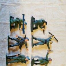 Figuras de Goma y PVC: LOTE SOLDADOS JECSAN PINTADOS. Lote 253704910