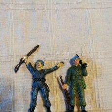 Figuras de Goma y PVC: SOLDADOS JECSAN CASCOS AZULES PINTADOS. Lote 253710580