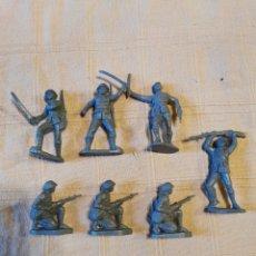 Figuras de Goma y PVC: LOTE SOLDADOS JECSAN JAPONESES. Lote 253716165