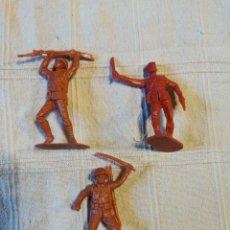 Figuras de Goma y PVC: LOTE SOLDADOS JECSAN JAPONESES ROJOS. Lote 253721625