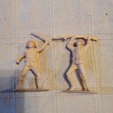 Figuras de Goma y PVC: SOLDADOS JECSAN JAPONESES. Lote 253724415
