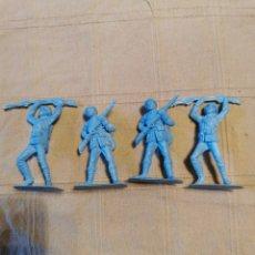 Figuras de Goma y PVC: SOLDADOS JECSAN JAPONESES. Lote 253725085