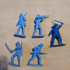 Figuras de Goma y PVC: SOLDADOS JECSAN JAPONESES. Lote 253726210
