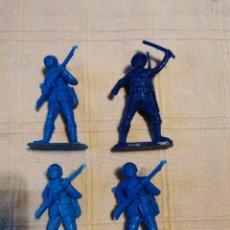 Figuras de Goma y PVC: SOLDADOS JECSAN JAPONESES. Lote 253726420