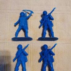 Figuras de Goma y PVC: SOLDADOS JECSAN JAPONESES. Lote 253726750