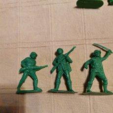 Figuras de Goma y PVC: SOLDADOS JECSAN JAPONESES. Lote 253728055