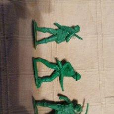 Figuras de Goma y PVC: SOLDADOS JECSAN JAPONESES. Lote 253728400