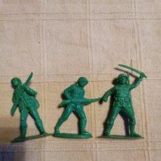 Figuras de Goma y PVC: SOLDADOS JECSAN JAPONESES. Lote 253728645