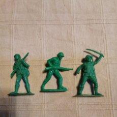 Figuras de Goma y PVC: SOLDADOS JECSAN JAPONESES. Lote 253728890
