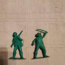 Figuras de Goma y PVC: SOLDADOS JECSAN JAPONESES. Lote 253729300