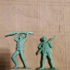 Figuras de Goma y PVC: SOLDADOS JECSAN JAPONESES. Lote 253729645