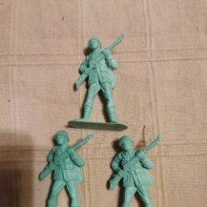 Figuras de Goma y PVC: SOLDADOS JECSAN JAPONESES. Lote 253730020