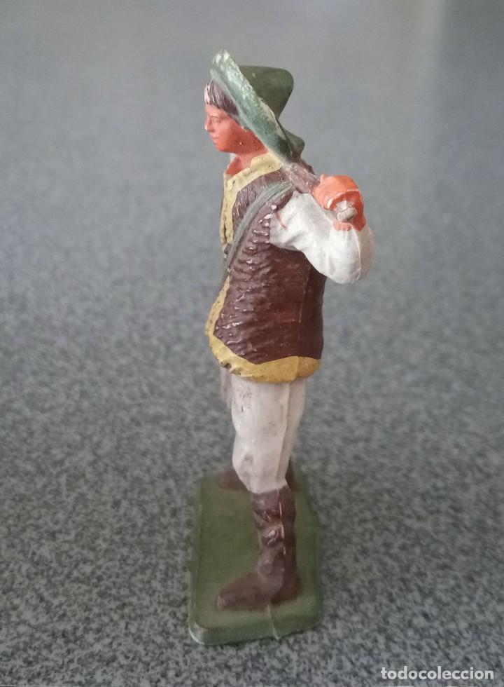Figuras de Goma y PVC: Figura Pastor plástico Starlux - Foto 5 - 253739475