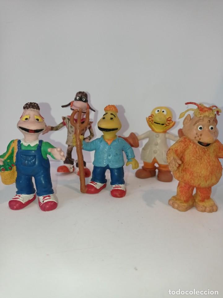 LOTE DE 5 FIGURAS DE LOS MUNDOS DE YUPI - TVE AÑOS 80. PVC COMICS SPAIN (Juguetes - Figuras de Goma y Pvc - Comics Spain)