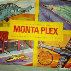 Figuras de Goma y PVC: SOBRE MONTAPLEX Nº 423 AVIONES. Lote 253873375