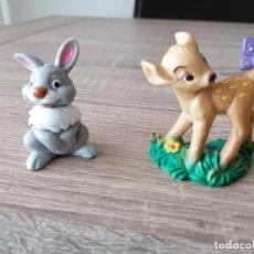 Figuras de Goma y PVC: BAMBI Y TAMBOR DE BULLYLAND. Lote 254036880
