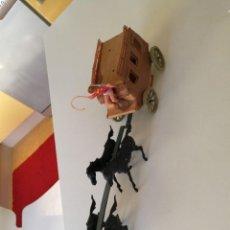 Figuras de Goma y PVC: JECSAN BRUBER LAFREDO PECH REAMSA CARRETA DILIGENCIA COMANSI AÑOS 60 - 70 CARAVANA. Lote 254068395