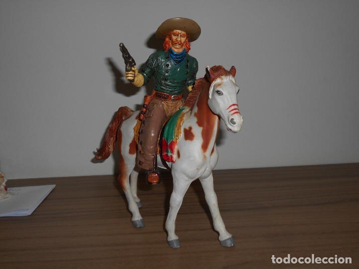 Figuras de Goma y PVC: WILD WEST Jesse Chisholm PVC COMANSI Western OESTE Heroes West - Foto 3 - 254087620