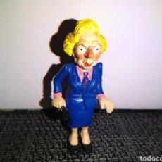 Figuras de Goma y PVC: FIGURA PVC MARGARET THATCHER COMICS SPAIN PRIMER MINISTRO BRITANICA. Lote 254096125
