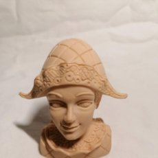 Figurines en Caoutchouc et PVC: COMICS SPAIN BUSTO ARLEQUIN PAYASO CON SOMBRERO PROTOTIPO SIN PINTAR. Lote 254127060