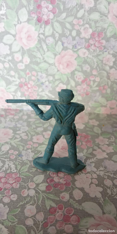 Figuras de Goma y PVC: FIGURA DE PLASTICO. FORT-JECSAN. - Foto 2 - 254131415