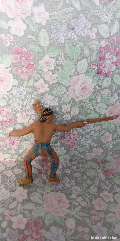 Figuras de Goma y PVC: FIGURA DE PLASTICO. FORT-JECSAN. - Foto 2 - 254138030